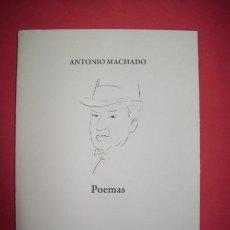 Libros de segunda mano: POEMAS - MACHADO, ANTONIO. Lote 22849082