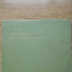 Libros de segunda mano: CARTAS CERRADAS. CHAMPOURCIN (ERNESTINA DE). Lote 17034494