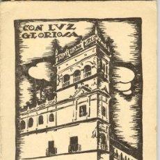 Libros de segunda mano: 1938: SALAMANCA - POESÍA - GUERRA CIVIL - CON LUZ GLORIOSA. Lote 26872724