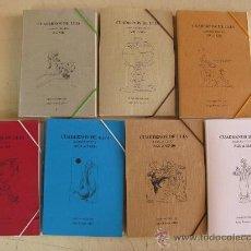 Libros de segunda mano: CUADERNOS DE ULIA-7 CARPETAS CON 49 CUADERNOS DE POETAS CORDOBESES-PORTADA PINTORES CORDOBESES-. Lote 35836522