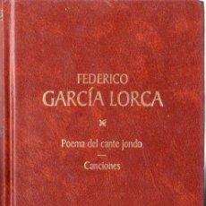 Libros de segunda mano: FEDERICO GARCIA LORCA. POEMA DEL CANTE JONDO. CANCIONES.. Lote 20346456