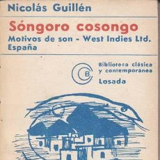 Nicolas Guillen Motivos De Son