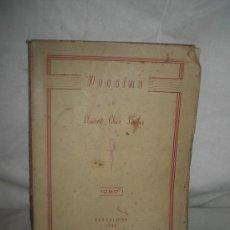 Libros de segunda mano: 1886- POESIAS, 1950. ELEUTRERIO CHICO SANCHEZ.. Lote 21409300