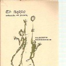 Libros de segunda mano: ALBERTO BARASOAIN: CAZA MENOR (MANRESA, 1964) COLECCIÓN EL BARDO Nº 6. PRIMERA EDICIÓN. Lote 22790623