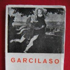 Libros de segunda mano: GARCILASO OBRAS. Lote 22987078