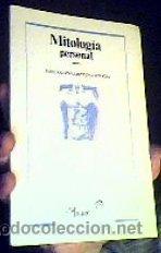 MITOLOGÍA PERSONAL;JOSE ANTONIO MORENO JURADO;UBAGO 1ª EDICIÓN 1986 (Libros de Segunda Mano (posteriores a 1936) - Literatura - Poesía)