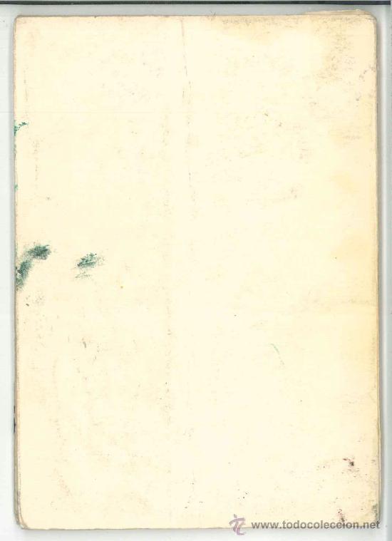 Libros de segunda mano: CUBIERTA TRASERA. - Foto 7 - 27259239