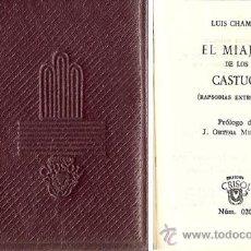 Libros de segunda mano: CRISOLÍN Nº 20 – EL MIAJÓN DE LOS CASTÚOS – AÑO 1963. Lote 27368443
