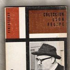 Libros de segunda mano: COLECCION LEON FELIPE-N.8. Lote 26038745