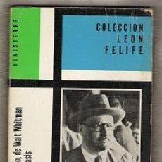 Libros de segunda mano: COLECCION LEON FELIPE-N.9. Lote 26038786