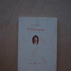 Libros de segunda mano: MEDIOBIOGRAFÍA DE BLAS DE OTERO. Lote 27744601