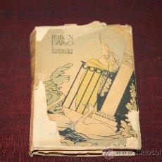 Libros de segunda mano: 1065- 'POESÍAS ESCOGIDAS VOL I' POR RUBEN DARIO. EDICIONES AFRODISIO AGUADO MADRID 1940?. Lote 27930454