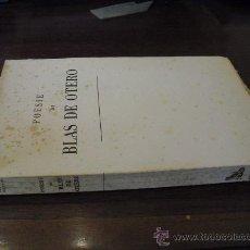 Libros de segunda mano: 1962 PRIMERA EDICION BILINGÚE POESIE BLAS DE OTERO MUY RARO. Lote 28310828