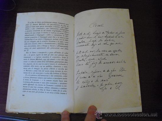 Libros de segunda mano: 1962 PRIMERA EDICION BILINGÚE POESIE BLAS DE OTERO MUY RARO - Foto 3 - 28310828