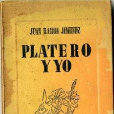 Libros de segunda mano: JUAN RAMÓN JIMÉNEZ : PLATERO Y YO (1963) ILUSTRACIONES DE ATILIO ROSSI. Lote 28591862