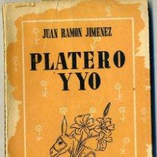 Libros de segunda mano: JUAN RAMÓN JIMÉNEZ : PLATERO Y YO (1952) ILUSTRACIONES DE ATILIO ROSSI. Lote 28591872