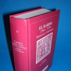 Libros de segunda mano: 1995 - EL BARDO (1964 - 1974) MEMORIA Y ANTOLOGIA. Lote 28673272
