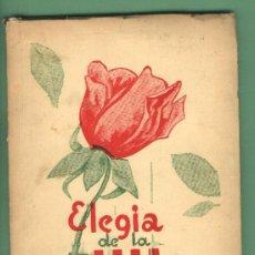 Libros de segunda mano: ELEGIA DE LA ROSA. PERE-ANTON CARTANYÀ I NADAL. REUS 1976. SIGNAT I DEDICAT PER L'AUTOR. EXLIBRIS.. Lote 29219790