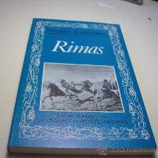 Libros de segunda mano: RIMAS.- ESTEBAN ECHEVERRIA. EDITORA NACIONAL, 1984. Lote 29306127