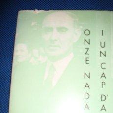 Libros de segunda mano: (106) ONZE NADALS I UN CAP D'ANY. Lote 29336526