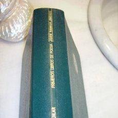 Libros de segunda mano: JUAN RAMON JIMENEZ. PRIMEROS LIBROS DE POESÍA. AGUILAR. COLECCIÓN PREMIOS NÓBEL. Lote 29704531