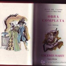 Libros de segunda mano: VILLAMEDIANA. OBRA COMPLETA. JUAN DE TASSIS (CONDE DE VILLAMEDIANA). EDICIÓN NUMERADA. Lote 29854346