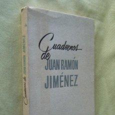 Libros de segunda mano: CUADERNOS DE JUAN RAMON JIMENEZ - JUAN RAMON JIMENEZ - TAURUS. MADRID - 1960 - 1ª EDICION. Lote 30004097