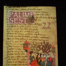 Libros de segunda mano: PALIMP SESTO 22. REV.POESIA. 2007 72 PAG CARMONA. Lote 30783958