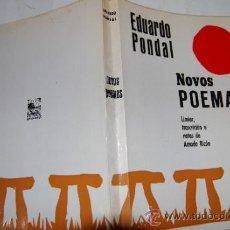 Libros de segunda mano: NOVOS POEMAS. EDUARDO PONDAL RM19920. Lote 30803399