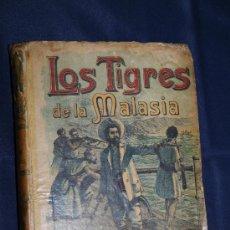 Libros de segunda mano: 1511- 'LOS TIGRES DE LA MALASIA' POR E. SALGARI - SATURNINO CALLEJA FDEZ. - MADRID. Lote 30953240