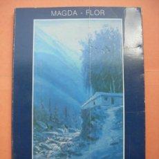 Libros de segunda mano: MAGDA FLOR. VOZES. DEDICADO POR LA AUTORA. Lote 31850280