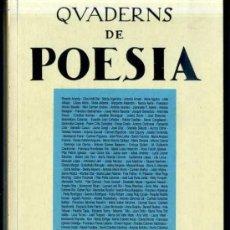 Libros de segunda mano: QUADERNS DE POESIA SETEMBRE 1996 - CATALÁN Y CASTELLANO -438 PÁGINAS. Lote 31907806
