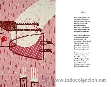 Libros de segunda mano: SELECCIÓN POÉTICA.GABRIELA MISTRAL.FAKTORÍA DE LIBROS, 1ª ED. 2009. ILUSTRACIONES DE PALOMA VALDIVIA - Foto 7 - 32953727