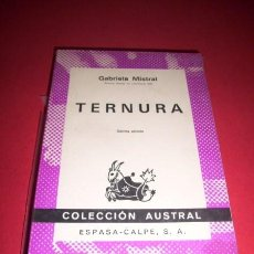 Libros de segunda mano: MISTRAL, GABRIELA - TERNURA. Lote 33706986