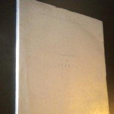 Libros de segunda mano: CUADERNO DE VERSOS / MARIO BERTRAND ESTEBAN-INFANTES ( 1942 1961 ). Lote 34971222