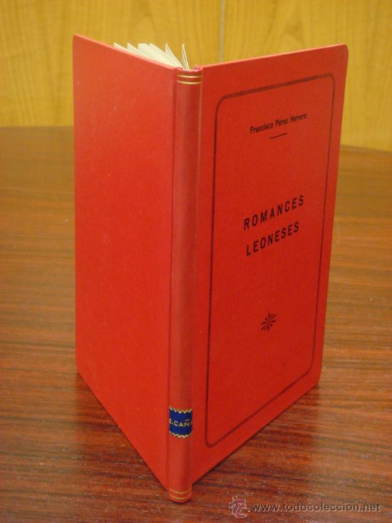 Libros de segunda mano: RETABLO LEONES, ROMANCES. FRANCISCO PEREZ HERRERO. 1940 - Foto 2 - 34938267