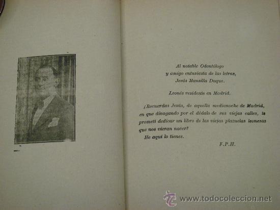 Libros de segunda mano: RETABLO LEONES, ROMANCES. FRANCISCO PEREZ HERRERO. 1940 - Foto 5 - 34938267
