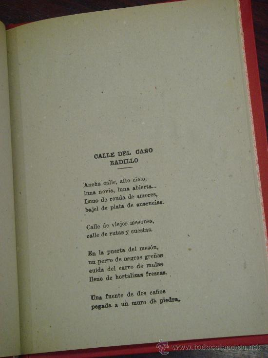 Libros de segunda mano: RETABLO LEONES, ROMANCES. FRANCISCO PEREZ HERRERO. 1940 - Foto 6 - 34938267