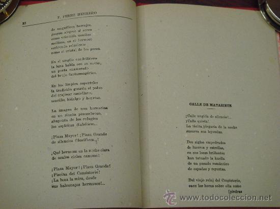 Libros de segunda mano: RETABLO LEONES, ROMANCES. FRANCISCO PEREZ HERRERO. 1940 - Foto 9 - 34938267