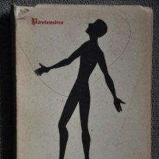 Libros de segunda mano: LIBRO DE POESIA DEDICADO DE NOVIEMBRE DISTANCIA 1957 ED.. NUMERADA. Lote 34980400