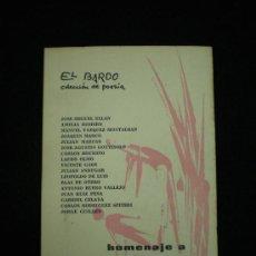 Libros de segunda mano: HOMENAJE A VICENTE ALEIXANDRE. EL BARDO. COLECCIÓN DE POESÍA. 1ª ED. BARCELONA,1964.. Lote 36113977