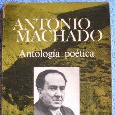 Libros de segunda mano: ANTOLOGIA POETICA. ANTONIO MACHADO. INTR. CARLOS AYALA. EDICION PARA REGALO DE LA NAVIDAD DE 1975.. Lote 36272521