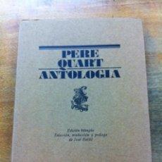 Libros de segunda mano - PERE QUART. ANTOLOGÍA. - 36811478