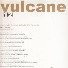 Libros de segunda mano: VULCANE 12 CARTÓN DE CULTURA SEPTIEMBRE 2006. Lote 36911069