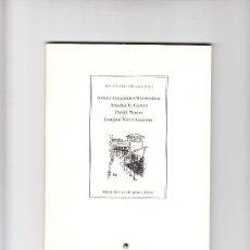 Libros de segunda mano: POESÍA EN LA RESIDENCIA MIÉRCOLES 12 DE JUNIO 2002. Lote 36911210