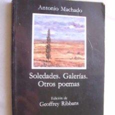 Libros de segunda mano: SOLEDADES. GALERÍAS. OTROS POEMAS MACHADO, ANTONIO. 1997. Lote 37415874