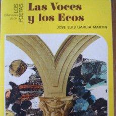 Gebrauchte Bücher - JOSE LUIS GARCÍA MARTÍN. LAS VOCES Y LOS ECOS - 37582029