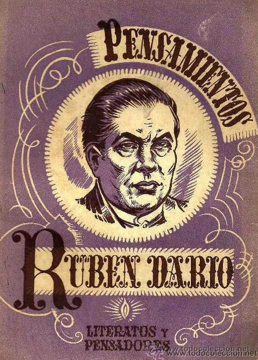 RUBÉN DARÍO - PENSAMIENTOS - ED.SÍMBOLO - 1945 (Libros de Segunda Mano (posteriores a 1936) - Literatura - Poesía)