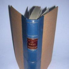 Libros de segunda mano: 1948 - FERNANDO DE HERRERA - RIMAS INEDITAS. Lote 37755440