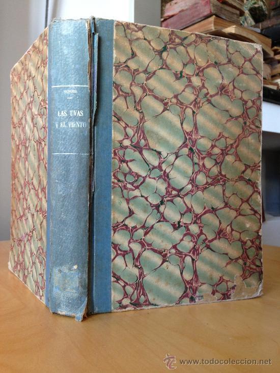 1954.- LAS UVAS Y EL VIENTO. PABLO NERUDA. 1º EDICION. SANTIAGO DE CHILE. (Libros de Segunda Mano (posteriores a 1936) - Literatura - Poesía)